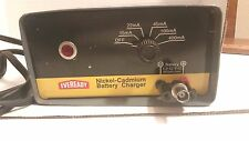 EVEREADY ACC100 NICKEL-CADMIUM BATTERY CHARGER POWER SUPPLY 120V-AC / WORKS