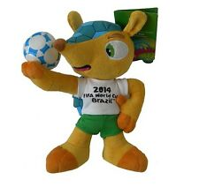 WORLD CUP 2014 BRAZIL MASCOT PLUSH TOY - FULECO - 13cm