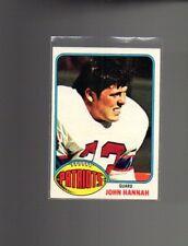 1976 Topps Football Set JOHN HANNAH Card #16 NICE!