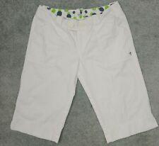 Roxy Women's Sz 13 White Shorts