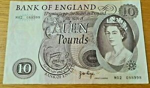 High Grade Bank of England Page Replacement £10 note M02 Ten Pounds 10 pound