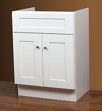 30 x 21 2-Door Linen White Vanity