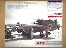 """PSA/DNA Harry Ferrier """"Battle Of Midway"""" Autographed 8x10 Picture Autograph"""
