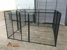 2m(L) x 2m(W) x 1.2m(H) Puppy Pen/Dog Exercise Enclosure In Black - $185/Set