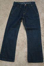 ". Mens Jeans size 30 (meas 29 x 28"") Earnest Sewn Hemingway 112 blue denim"