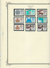 1986-87 Scott Specialty Album Page With 9 Exporta Stamps Cv$12 To $26(E018)