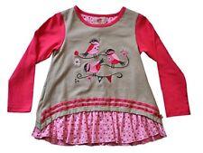 17/18 PAGLIE fille chemise tunique, gris pa-g4-w17-101 gr.104-128