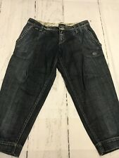 Miss Sixty Women's Jeans Distressed Crop Jeans Size 28