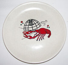 Crown Devon Fieldings England Oceana Lobster Cage Side Plate good condition
