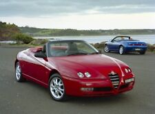 ALFA ROMEO SPIDER GTV 1996-2002 2L T-SPARK AND V6 WORKSHOP SERVICE REPAIR MANUAL