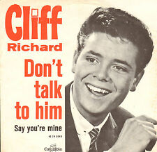"CLIFF RICHARD & THE S HADOWS - Don't Talk To Him (1963 VINYL SINGLE 7"" DUTCH PS)"