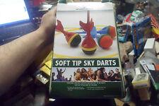 SPORTCRAFT OUTDOOR GAME SOFT TIP SKY DARTS KIDS/ADULT YARD GAME SPORT w/ BAG !