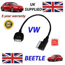 Original Vw Escarabajo MDI 000051446l iphone ipod en coche cable de recambio