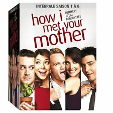 21559//HOW I MET YOUR MOTHER L'INTEGRALE  SAISON 1 A 6 NEUF SOUS BLISTER + BOOK