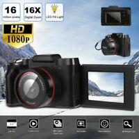 Digital Full HD 1080P 16MP Camera Video Camcorder Vlogging Flip Selfie camera xz