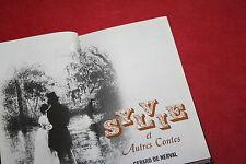 SYLVIE ET AUTRES CONTES par GERARD DE NERVAL éd EDICLUB ROMBALDI 1969