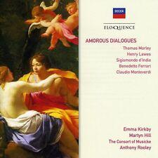 Martyn Hill, Emma Kirkby & David Thomas - Amorous Dialogues [New CD]