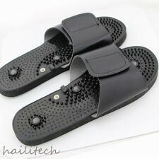 NEW Acupressure Massage Slipper Shoes Sandal Electrical Stimulator Foot Massager