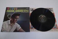ELVIS PARADISE HAWAIIAN STYLE Rare Old MONO RCA VICTOR Record LP W/ Inner Sleeve