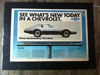 "1978 Chevrolet Corvette centerfold*Original*car print ""Ready to Display"" ad gift"