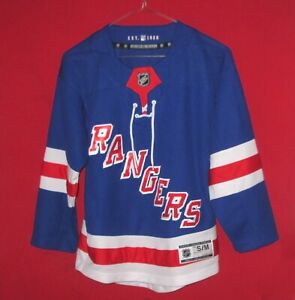 Nice NHL Brand New York Rangers Sewn Jersey Size Youth S/M