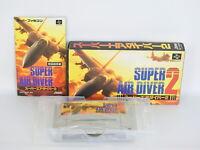 SUPER AIR DIVER 2 Ref/C Super Famicom Nintendo Japan Game sf
