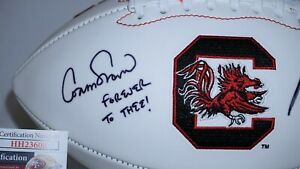 Connor Shaw and Marcus Lattimore Signed USC Gamecocks Football JSA HH23608 Cocks