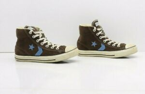 Converse All-Star RE-ISSUE Marrone Alte Usate EUR 39 UK 6 Mens 6 (Cod.SS2751)