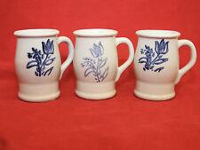 Pfaltzgraff YORKTOWNE 3 Footer Tulip Steins Mugs