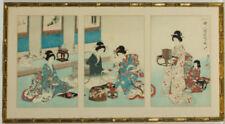 Woodcut/Block Original Asian Art Prints