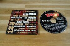 TESTAMENT - MASS HYSTERIA - SERJ TANKIAN - THE DARKNESS - CD ROCK HARD 123