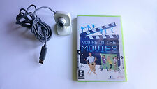 CAMARA Y JUEGO YOU´RE ARE IN MOVIES XBOX 360 PAL ESPAÑA.BUEN ESTADO