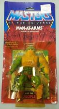 Mattel Masters Of The Universe Complete Unused Man-At-Arms - Opened with comic.