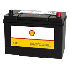 Shell SR31 Asia Autobatterie 12V 100AH Starterbatterie Plus Pol Rechts 60032