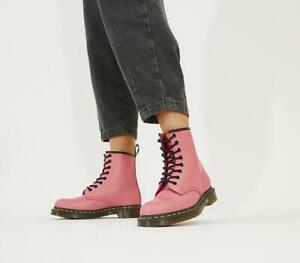 Dr. Martens 1460 Acid Pink Smooth Leather Ankle Boots RRP £149 UK 3-8