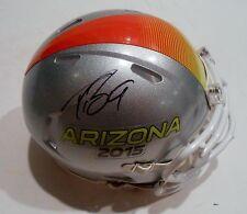 Drew Brees Signed 2015 Pro Bowl Football Mini Helmet w/PSA DNA Saints