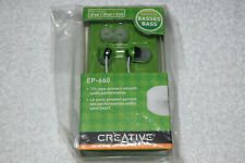 Creative EP-660 In-Ear Only Noise Isolating Headphones Earphones - Lime Green Ne