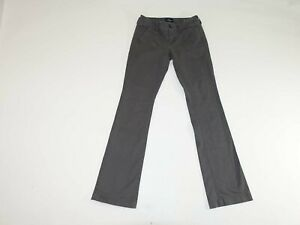 American Eagle Femmes Kickers Bottes Coupe Chino Pantalon Taille 0 Standard Gris