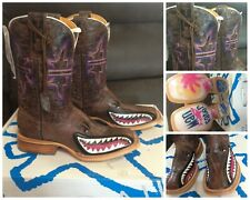 New Tin Haul maneater ladies boots, sz 10.5