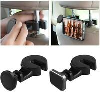 Universal Magnetic Car Phone Holder Hook Back Seat Headrest For Cell phone