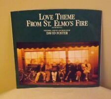 "David Foster ""Love Theme From St Elmo's Fire"" b/w ""Georgetown"" 45 rpm EX w/PS"