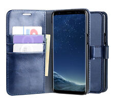 CUSTODIA FLIP CASE MAGNETICA IN PELLE FANCY per SAMSUNG S8 / S8 PLUS / S9