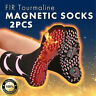 3PC FIR Tourmaline Magnetic Socks - Self Heating Therapy Magnetic Socks Unisex Y