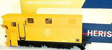 Spazzaneve Design Meiningen con Semaforo giallo-arancio DR ep.iv Heris H0 1:87
