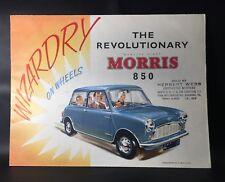 The Revolutionary Morris 850 Original Car Sales Brochure - 1960