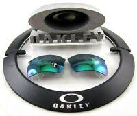 NEW OEM Oakley Jade Iridium POLARIZED Lenses Flak Jacket 2.0 Sunglasses 119