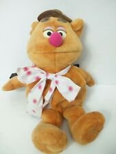 """The Muppets vintage fozzy bear backpack large 3D furry bag 20"""" soft toy plush"""