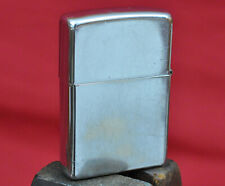 Plain Stainless Zippo Lighter