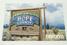 """Far Cry 5 Mini Promo Poster 8"""" x 12"""" - Welcome to Hope County - Promotional Art"""