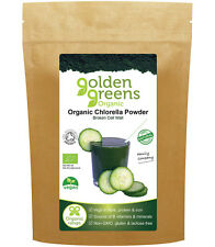 Greens Organic Chlorella Powder Cracked Cell Wall 250g A Superfood with Passion™